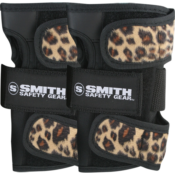 Smith Safety Gear Leopard Wrist Guards - Large