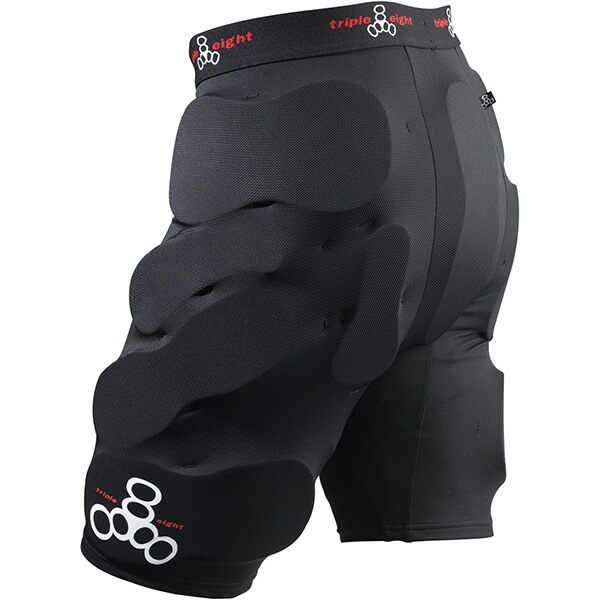Triple 8 Bumsaver Black Hip Pads - X-Large