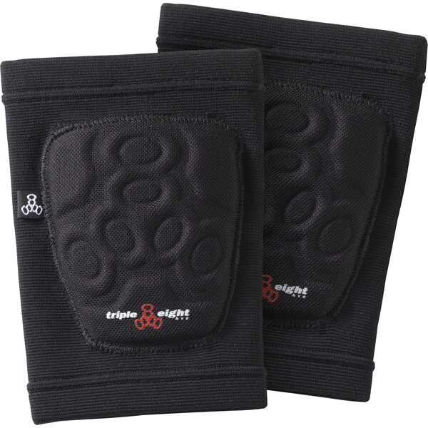 Triple 8 Covert Black Elbow Pads - Medium