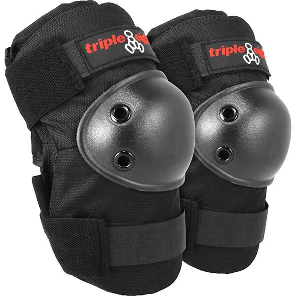 Triple 8 Elbowsaver Black Elbow Pads - One size fits most