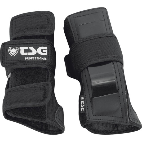 TSG Professional Black Wrist Guards - Small