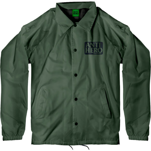 Anti Hero Skateboards Reserve Military Green Windbreaker Jacket - X-Large