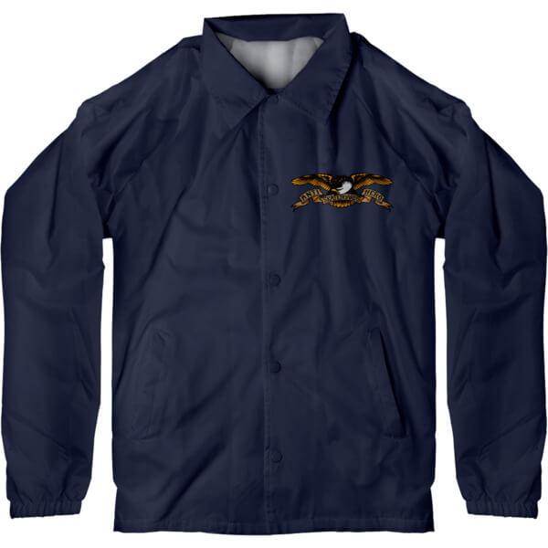 Anti Hero Skateboards Stock Eagle Navy Men's Jacket - Small