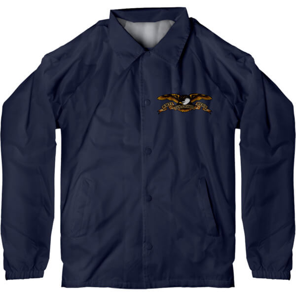 Anti Hero Skateboards Stock Eagle Navy Men's Jacket - Large
