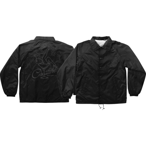 Creature Skateboards Bottoms up Windbreaker Coaches Jacket