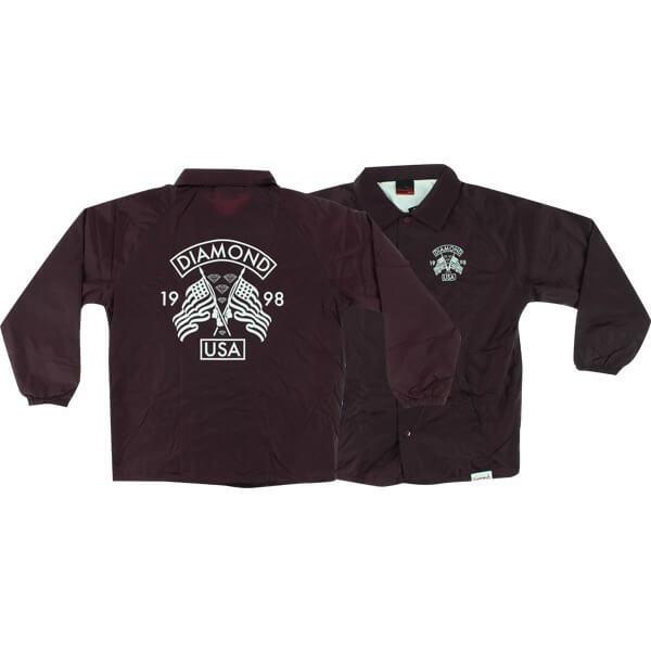 Diamond Supply Co USA Coaches Jacket