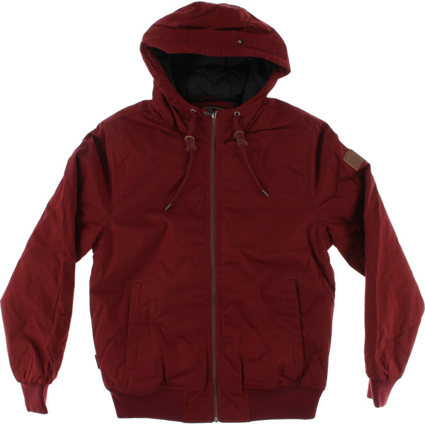 Element Skateboards Dulcey Port Red Men's Jacket - Small