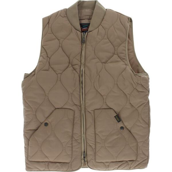 Grizzly Grip Tape Big Game Khaki Jacket Vest - X-Large