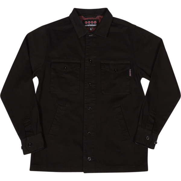 Independent Toil Work Black Jacket - Small