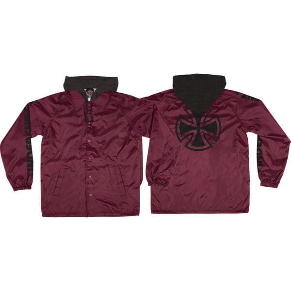 Independent Tonal Bar Windbreaker Coaches Jacket