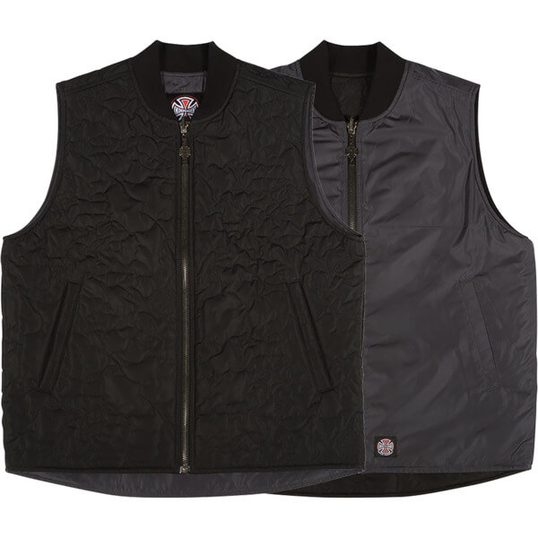 Independent Core Black Reversible Vest - X-Large
