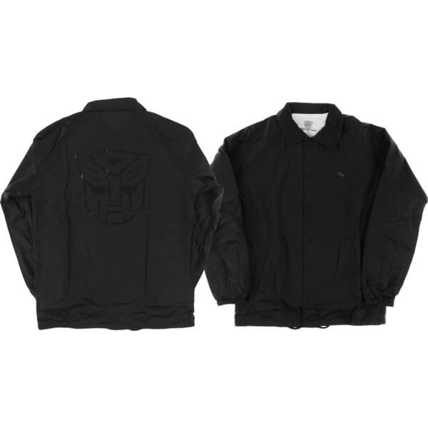 Primitive Skateboarding Autobots Black Coaches Jacket - Small
