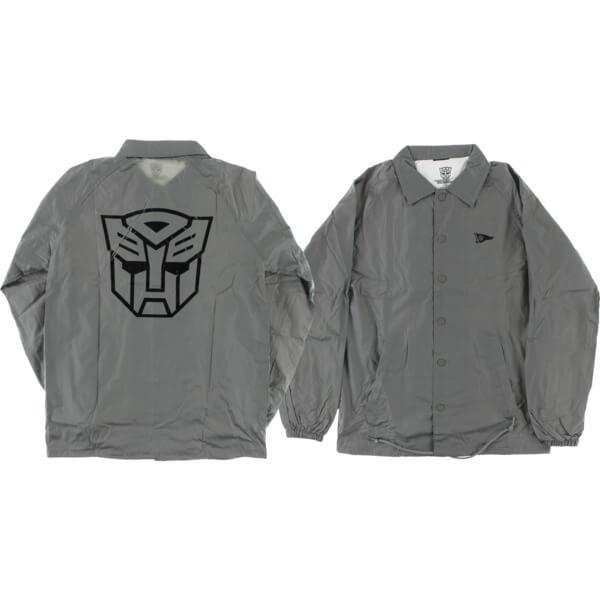 Primitive Skateboarding Autobots Grey Coaches Jacket - X-Large