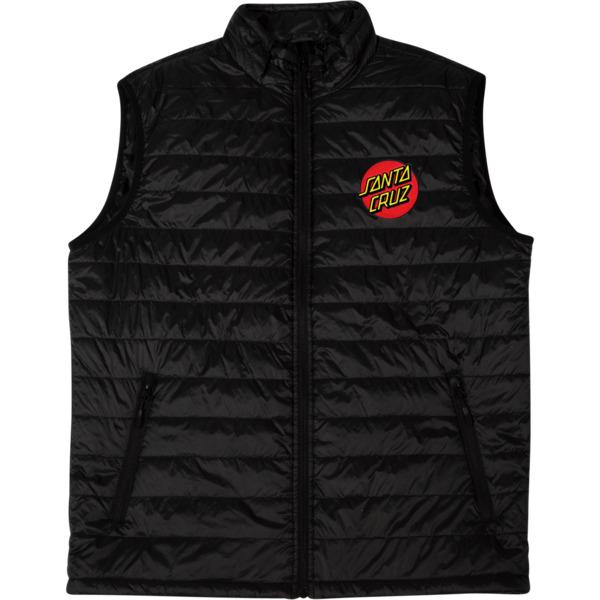 Santa Cruz Skateboards Classic Dot Black Vest - X-Large