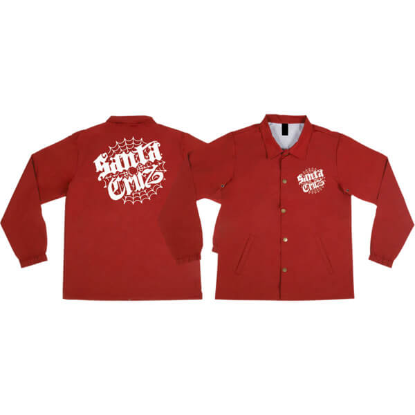Santa Cruz Skateboards Cob Web Windbreaker Jacket