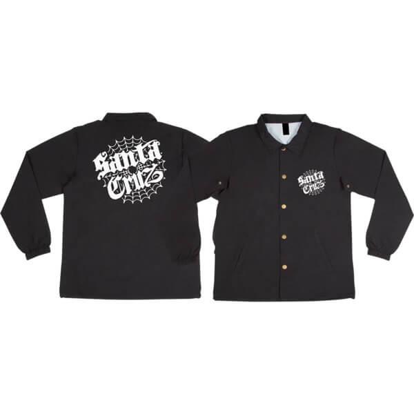 Santa Cruz Skateboards Cob Web Windbreaker Jacket