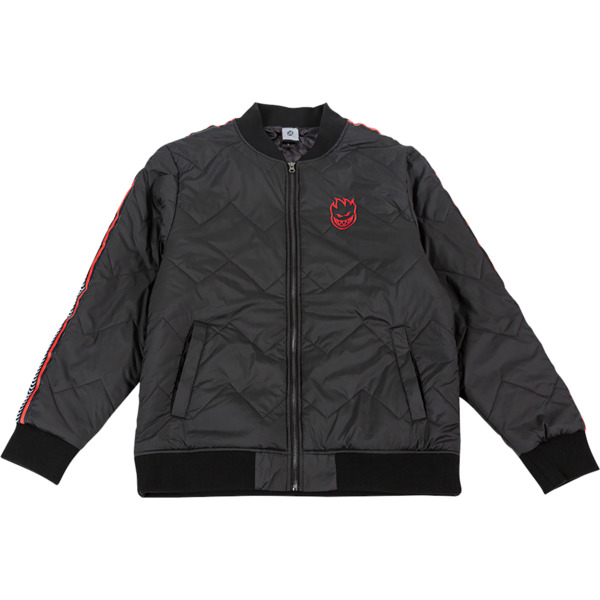 Spitfire Wheels Bighead Black / Red Bomber Jacker - X-Large