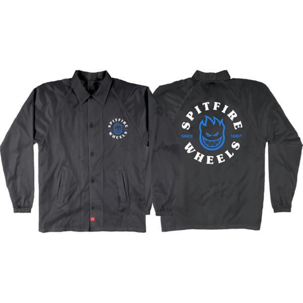 Spitfire Wheels Classic Bighead Black / Blue / White Youth Jacket - Medium