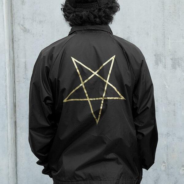 Thrasher Magazine Pentagram Coaches Jacket
