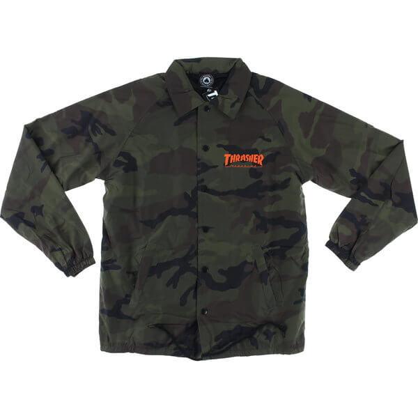 Thrasher Magazine Skategoat Camo Coaches Jacket - Small