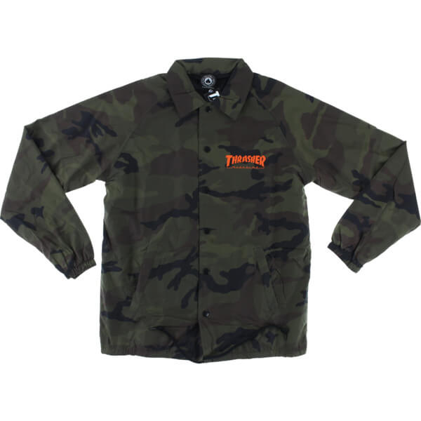 Thrasher Magazine Skategoat Coaches Jacket