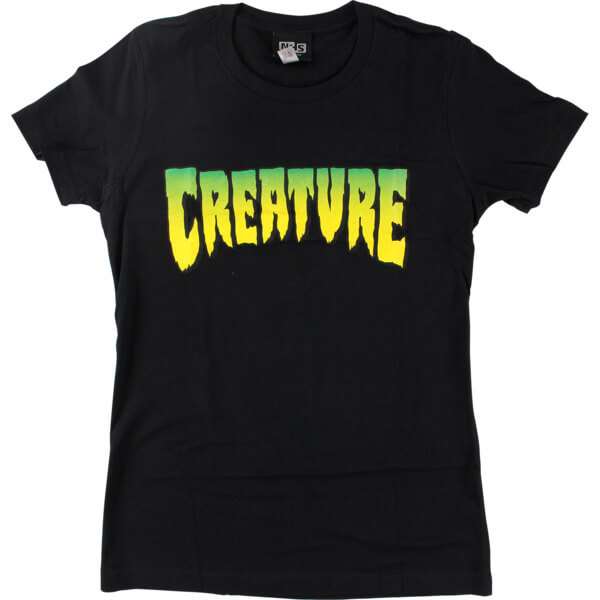 Creature Skateboards Logo Girl's Short Sleeve T-Shirt