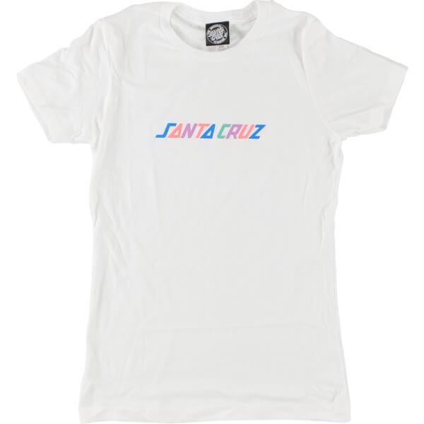 Santa Cruz Skateboards Colored Strip Women's T-Shirt