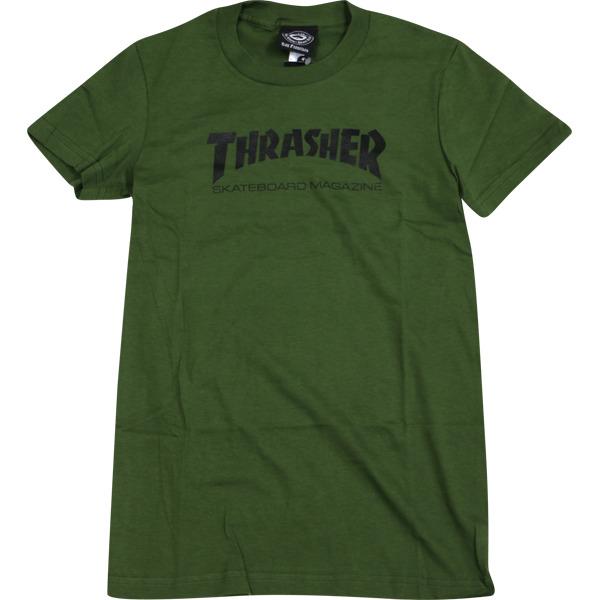 Thrasher Magazine Mag Logo Girl's Short Sleeve T-Shirt