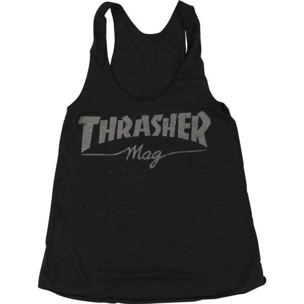 Thrasher Magazine Mag Logo Girl's Racerback Tank