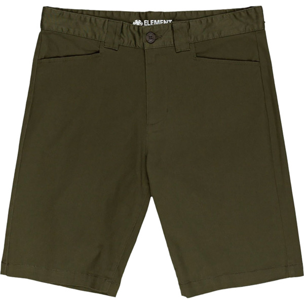 Element Skateboards Sawyer Classic Army Shorts - 28""