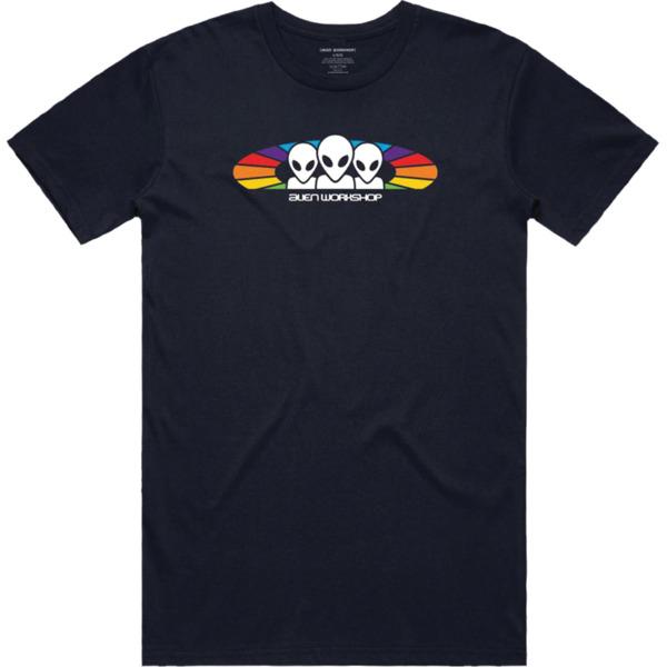 Alien Workshop Spectrum Navy Men's Short Sleeve T-Shirt - Medium