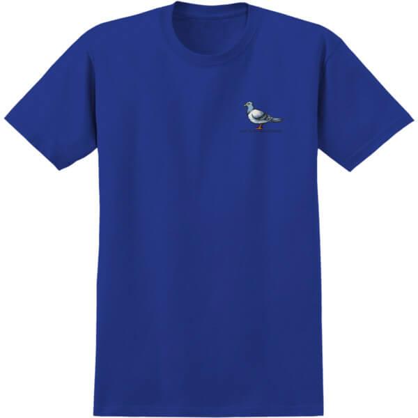 Anti Hero Skateboards Lil Pigeon Royal Men's Short Sleeve T-Shirt - Large