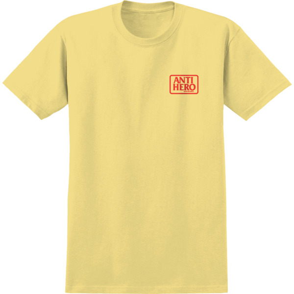 Anti Hero Skateboards Reserve Banana / Red Men's Short Sleeve T-Shirt - Small