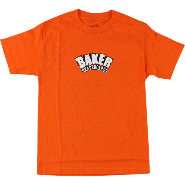 Baker Skateboards Arch Orange Men's Short Sleeve T-Shirt - Small