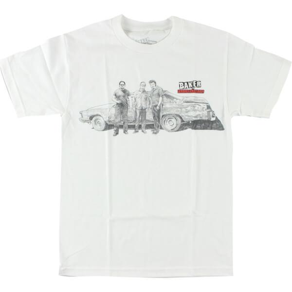 Baker Skateboards Trailer Park Boys White Men's Short Sleeve T-Shirt - X-Large