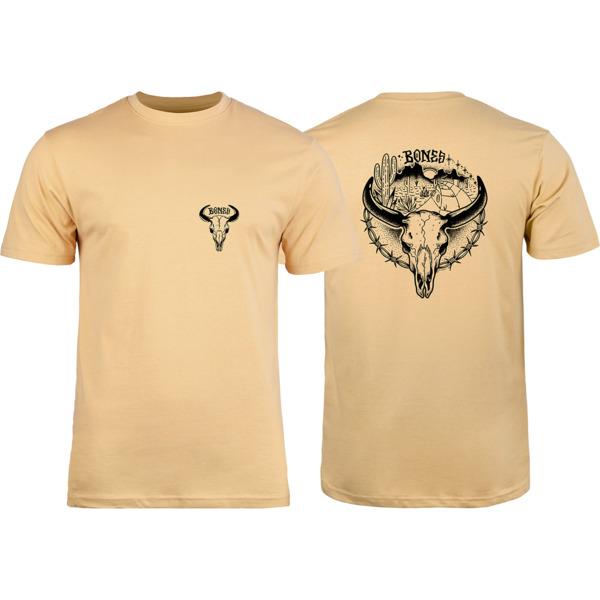 Bones Wheels Desert Ditch Tan Men's Short Sleeve T-Shirt - Small