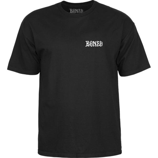 Bones Wheels Home School-D Black Men's Short Sleeve T-Shirt - Small