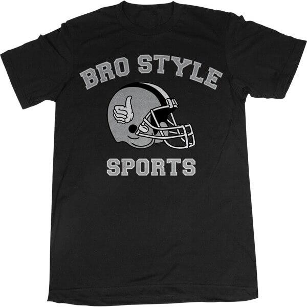 Bro Style Skateboards Sports Men's Short Sleeve T-Shirt