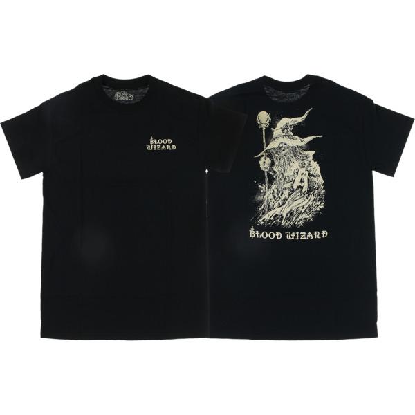 Blood Wizard Skateboards Wizard Black Men's Short Sleeve T-Shirt - Small