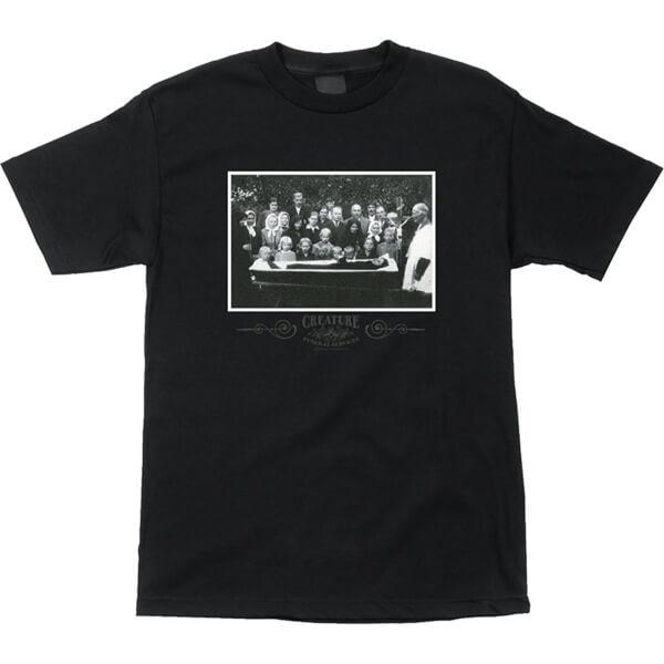 Creature Skateboards Funeral Service Men's Short Sleeve T-Shirt