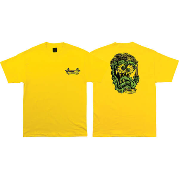 Creature Skateboards Grease Monkey Men's Short Sleeve T-Shirt