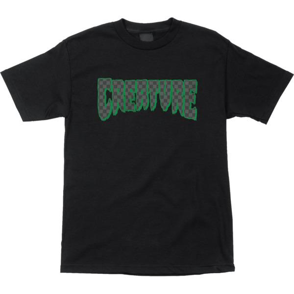Creature Skateboards Logo Check Men's Short Sleeve T-Shirt