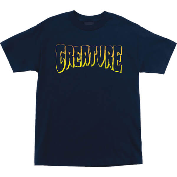 Creature Skateboards Logo Outline Men's Short Sleeve T-Shirt