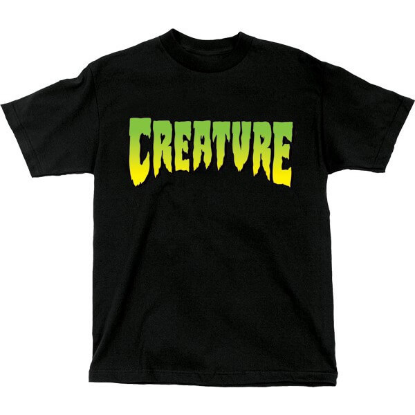 Creature Skateboards Logo Men's Short Sleeve T-Shirt