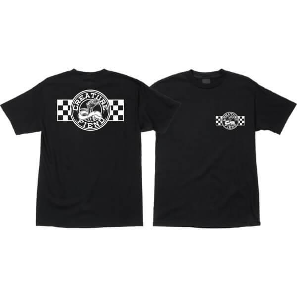 Creature Skateboards Strike Fast Black Men's Short Sleeve T-Shirt - Small
