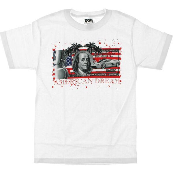 DGK Skateboards American Dream Bill Men's Short Sleeve T-Shirt