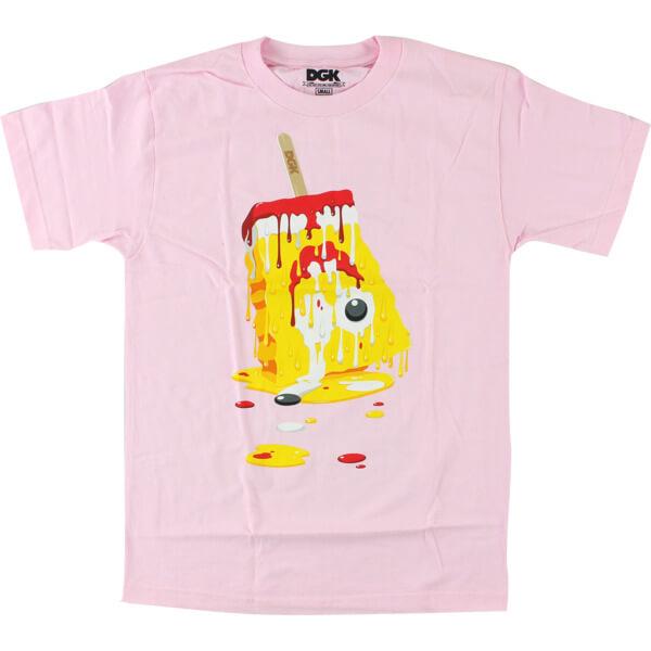DGK Skateboards Melted Pink Men's Short Sleeve T-Shirt - X-Large