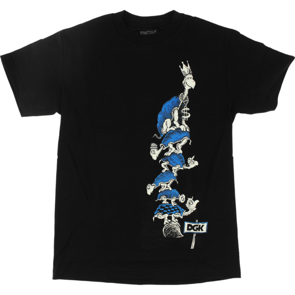 DGK Skateboards Turtle Black Men's Short Sleeve T-Shirt - Small