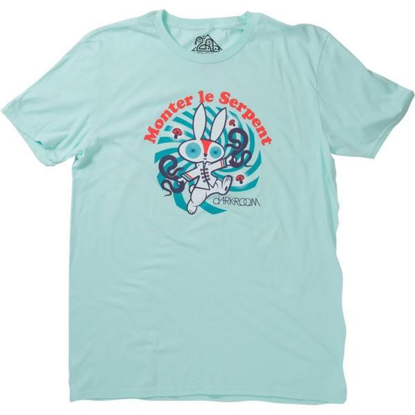 Darkroom Ride The Snake Teal Men's Short Sleeve T-Shirt - X-Large