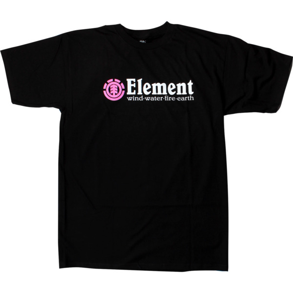 Element Skateboards Horizontal Pink Men's Short Sleeve T-Shirt